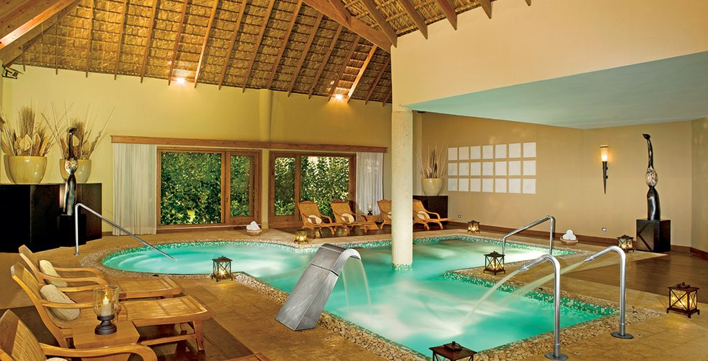Unwind at the spa....