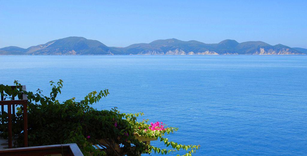 Breathtaking views of the unspoilt coastline