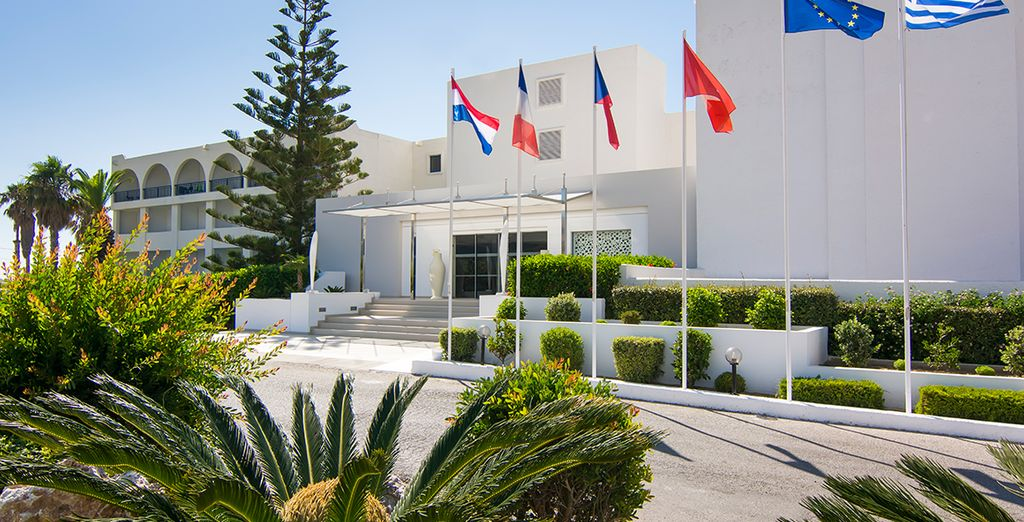 Located in sunny Kos