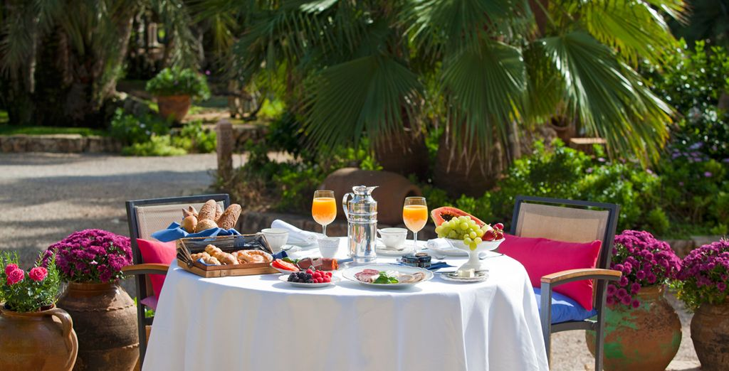 Take advantage of the weather by dining al fresco