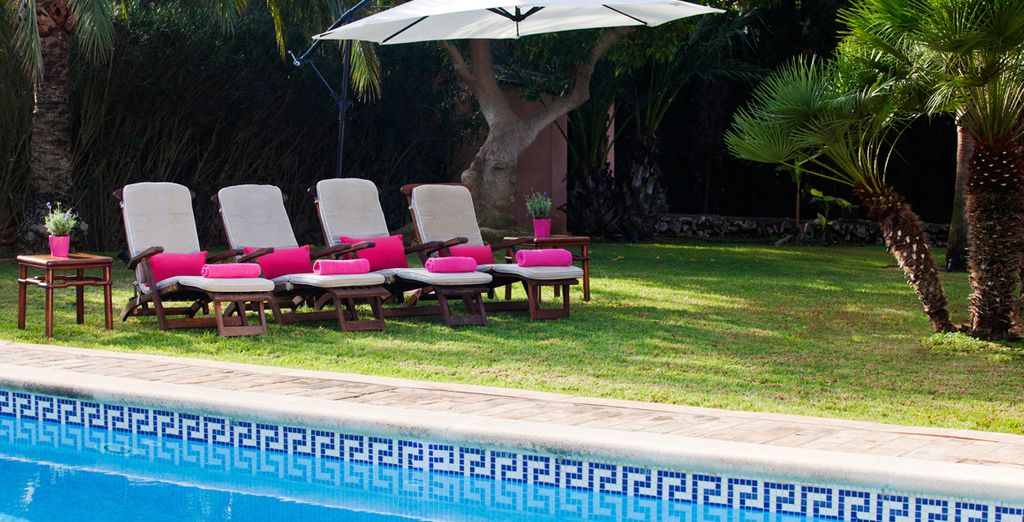 Or lounge by the pool for an indulgent escape