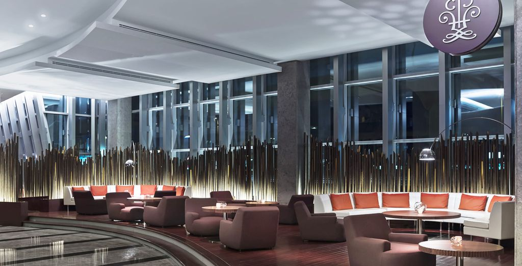 Explore the hotel's glamourous spaces