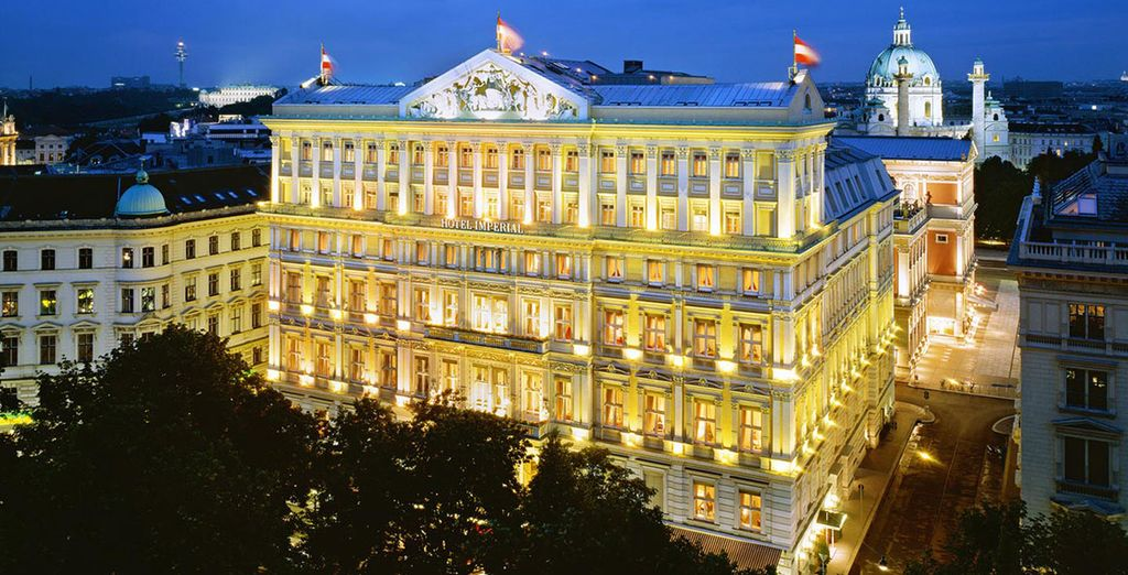 Visit the Imperial Vienna Hotel - Hotel Imperial - A Luxury Collection Hotel 5* Vienna