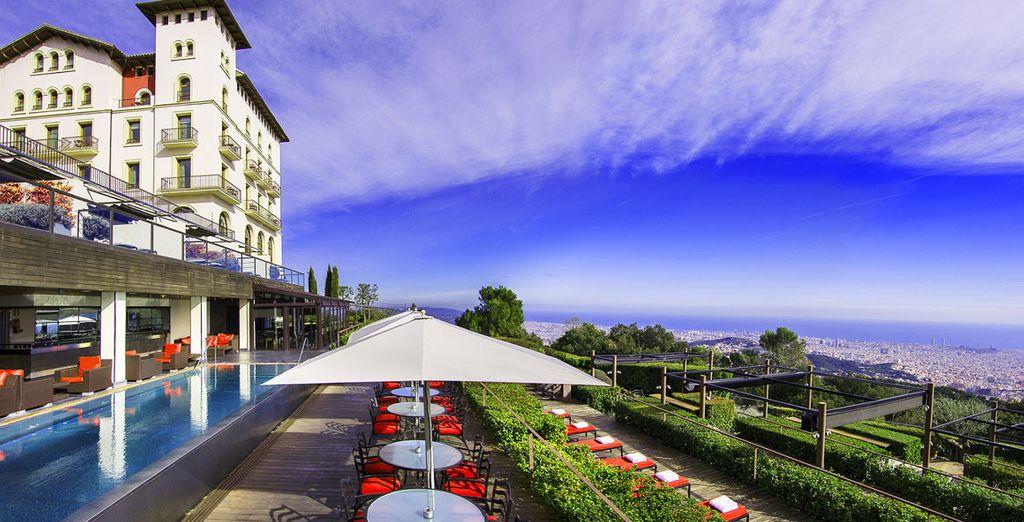 Expect amazing city views - Gran Hotel La Florida 5* Barcelona