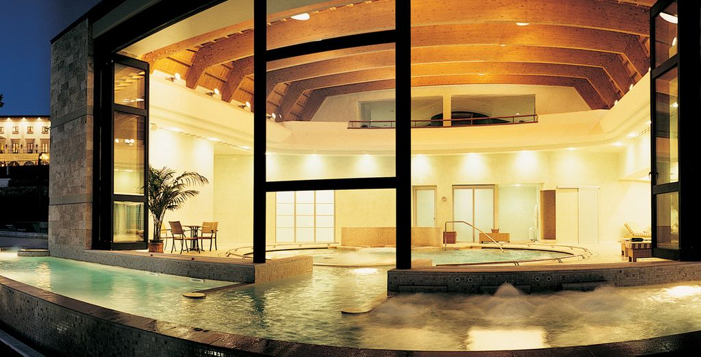 Relax in the heavenly spa