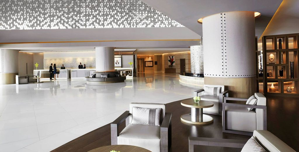 Welcome to the Fairmont Dubai - Fairmont Dubai 5* Dubai