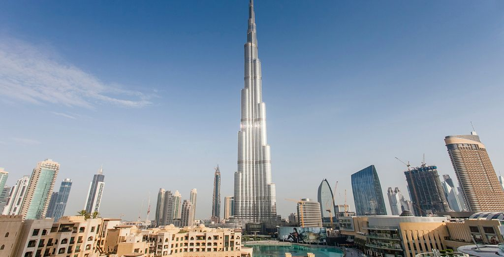 Take in the sights - you're 6km from the iconic Burj Khalifa