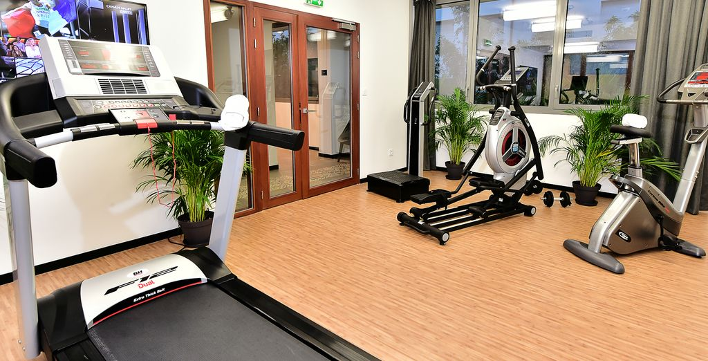 Visit the fitness room