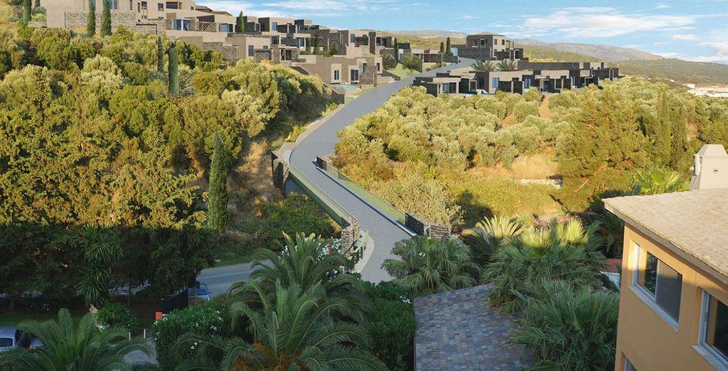 Eagles Villas features 40 luxury villas