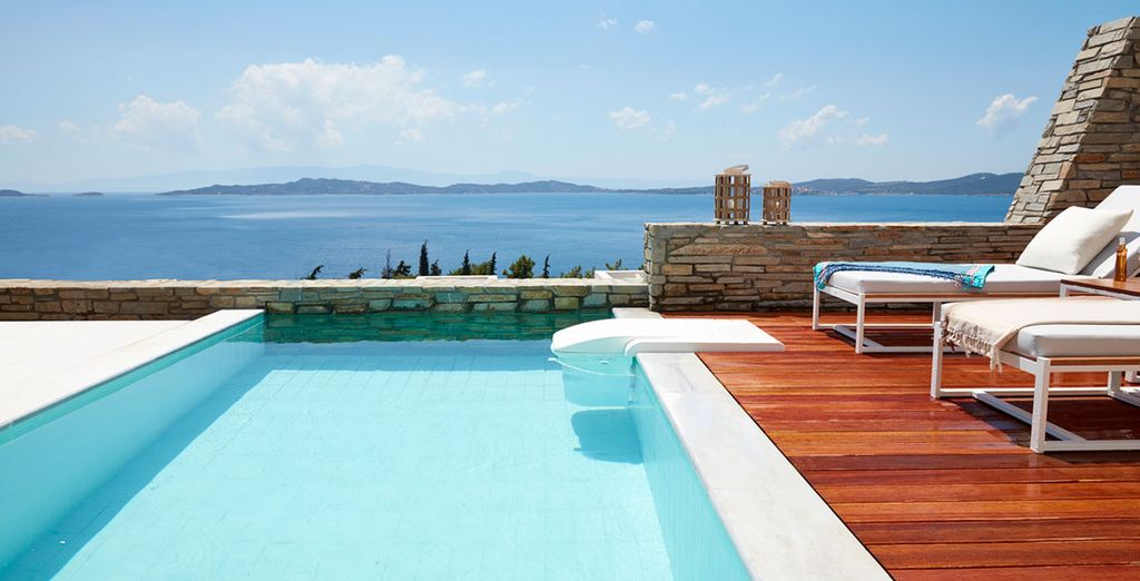 While away your days by your pool...