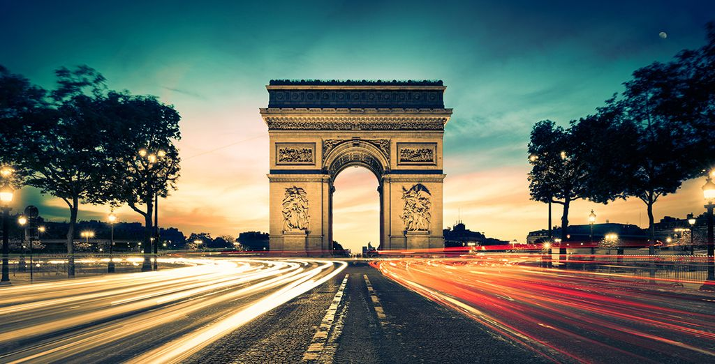 Get ready to be enchanted by the bright lights of Paris
