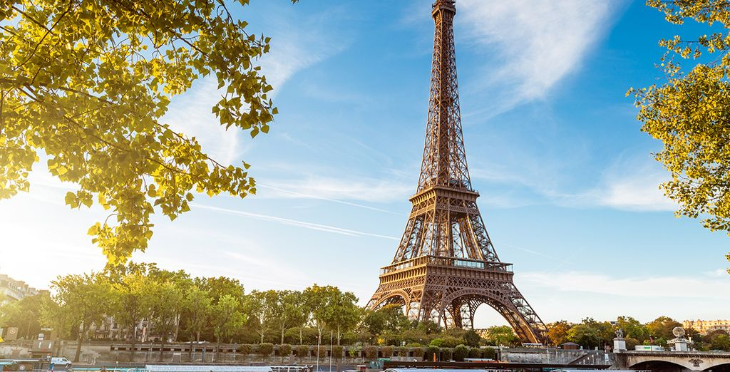 And discover the city of Paris