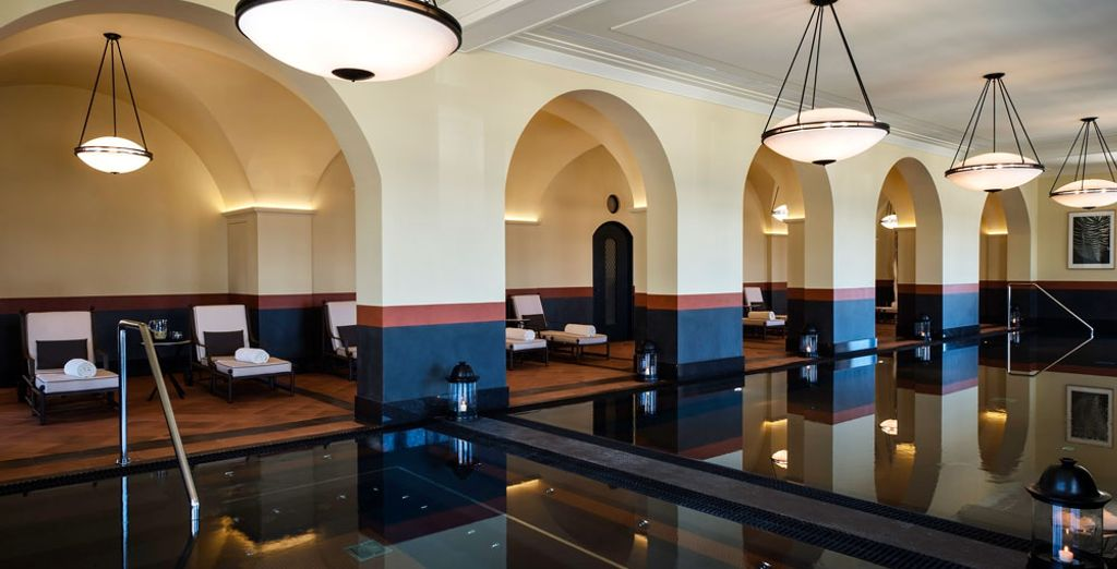Next, take some time to relax in the hotel's Spa