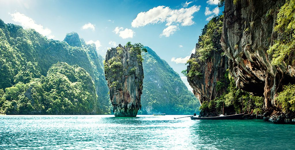 Discover the distinctive scenery of Phang Nga province