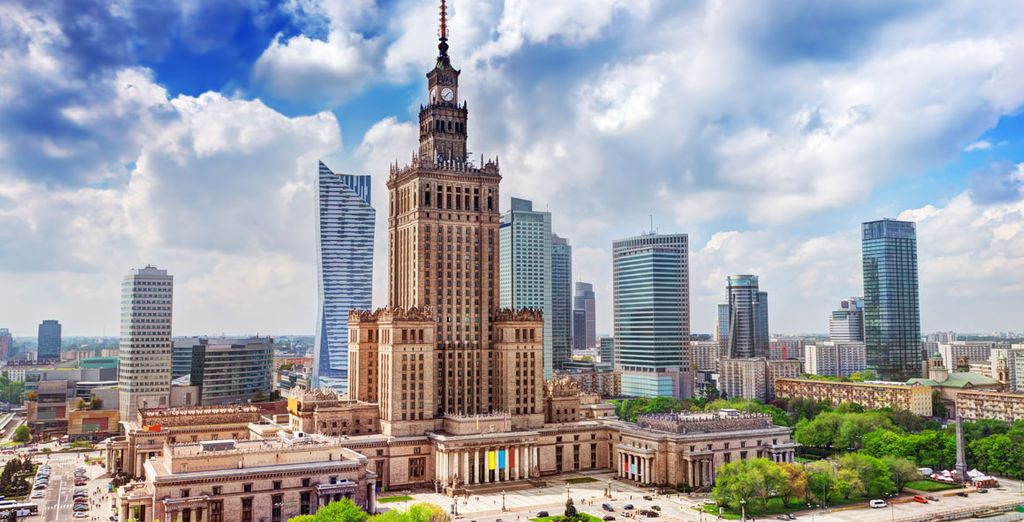 A unique city break in the heart of Warsaw awaits...