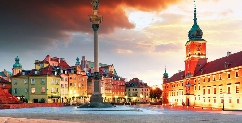 Warsaw is a city brimming with beauty