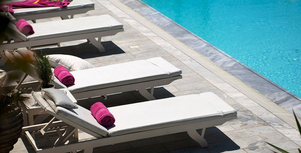 Then top up your tan by the pool