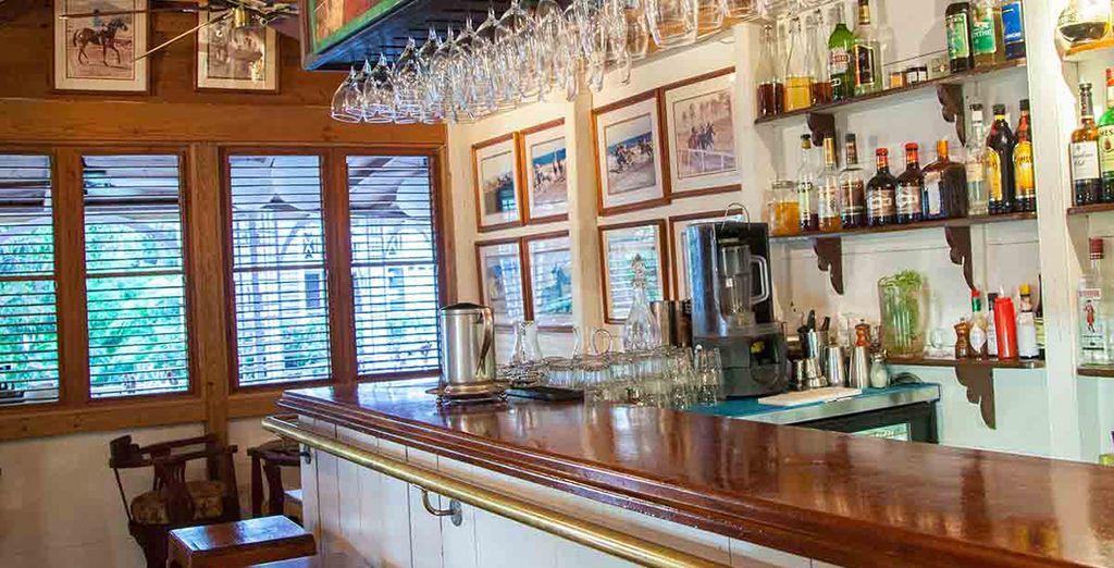 Enjoy Caribbean classics in the bar