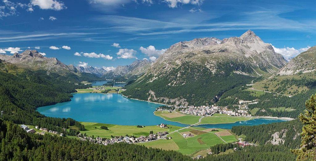 In the enchanting resort of St. Moritz