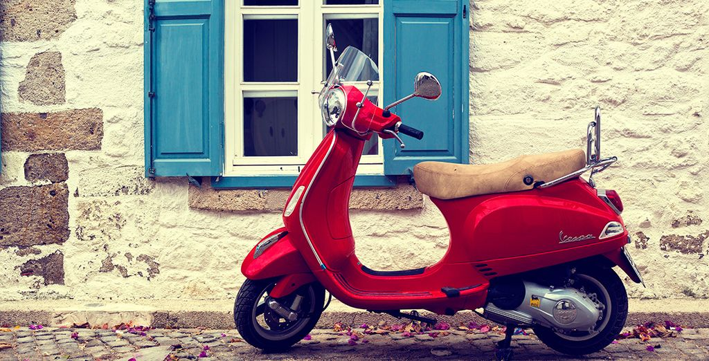 Hop on a moped and experience the city like a local