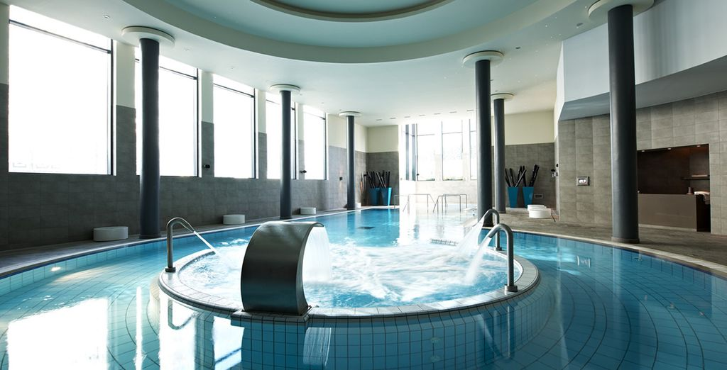 And free access to the thermal circuit at the Banyan Tree Spa
