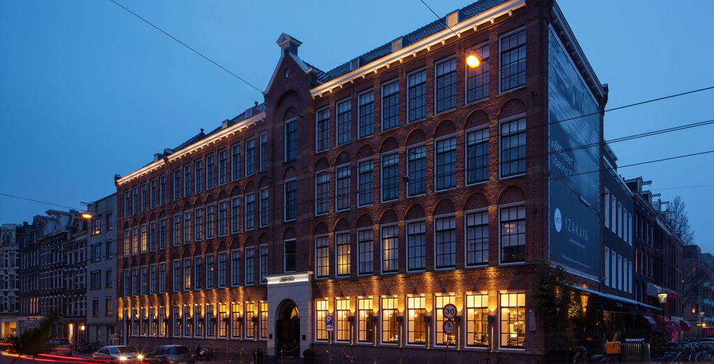 Presenting the fabulous Sir Albert Hotel, near the Van Gogh Museum