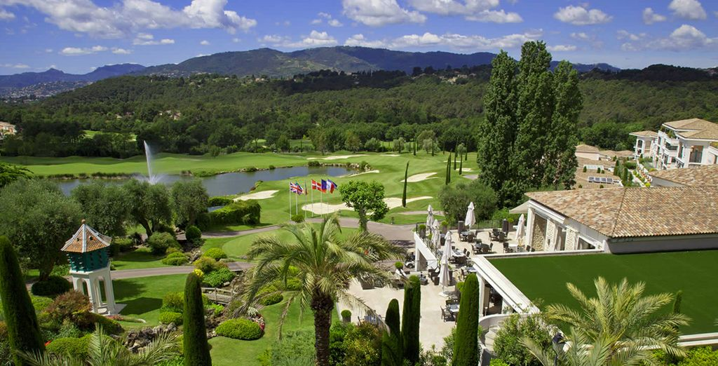 At the 4* Royal Mougins Golf & Resort