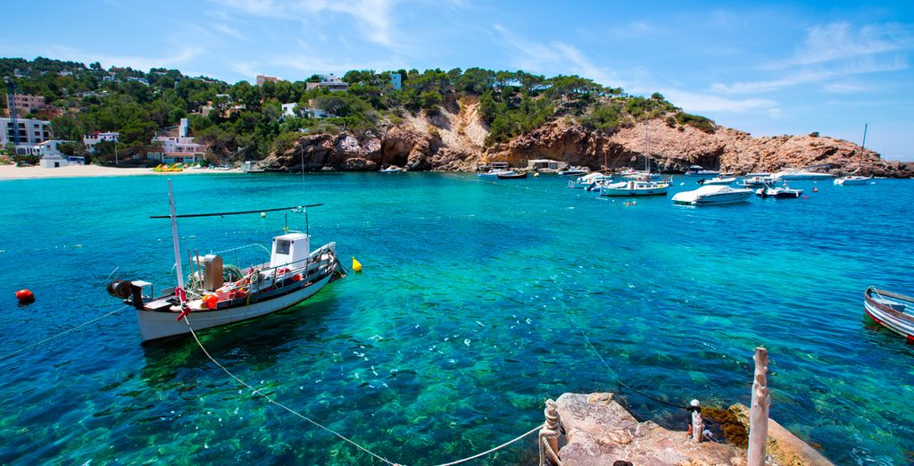 On the Balearic island of Ibiza
