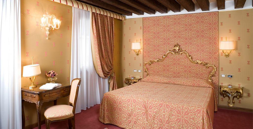 Relax in your elegant Standard Room