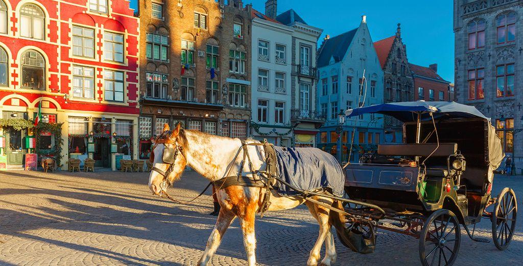 Discover the medieval marvels of Bruges - Hotel Dukes' Palace 5* Bruges
