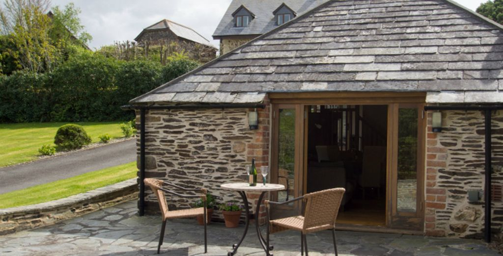 Natural Retreats - The Barn 4* (Sleeps up to 2 adults)