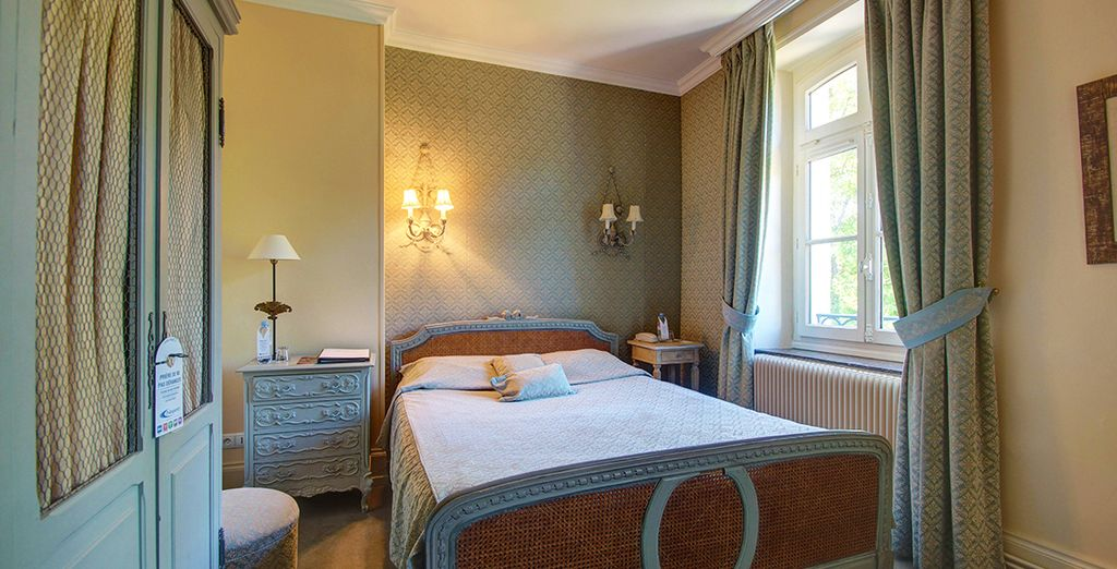 Our members will stay in a Charming Room