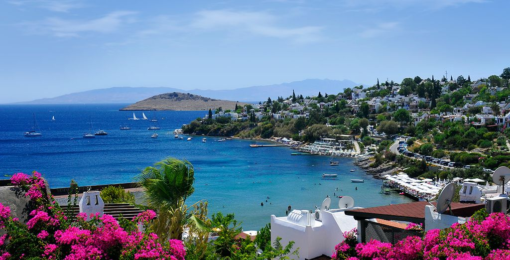 5km from Bodrum town centre