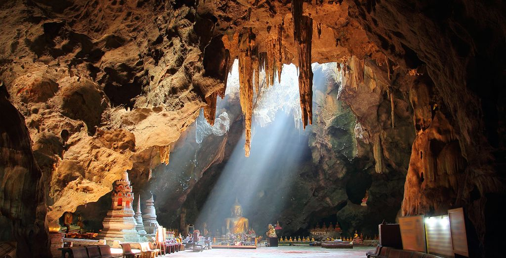 Explore nearby culture- Tham Khao Luang Cave Temple  is 45 mins away