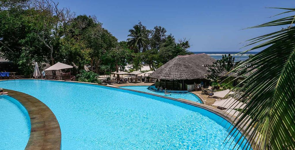 Part of the Baobab - a leading all inclusive resort
