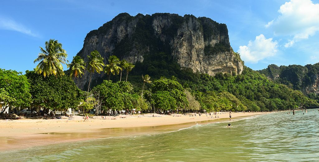 Just 150 metres from Ao Nang beach...