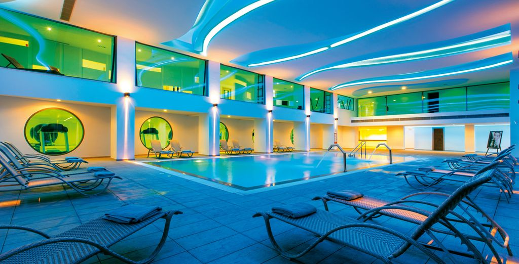 Make sure you pay a visit to the ultra modern spa