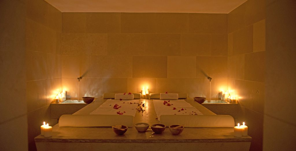 Indulge in a luxurious spa treatment