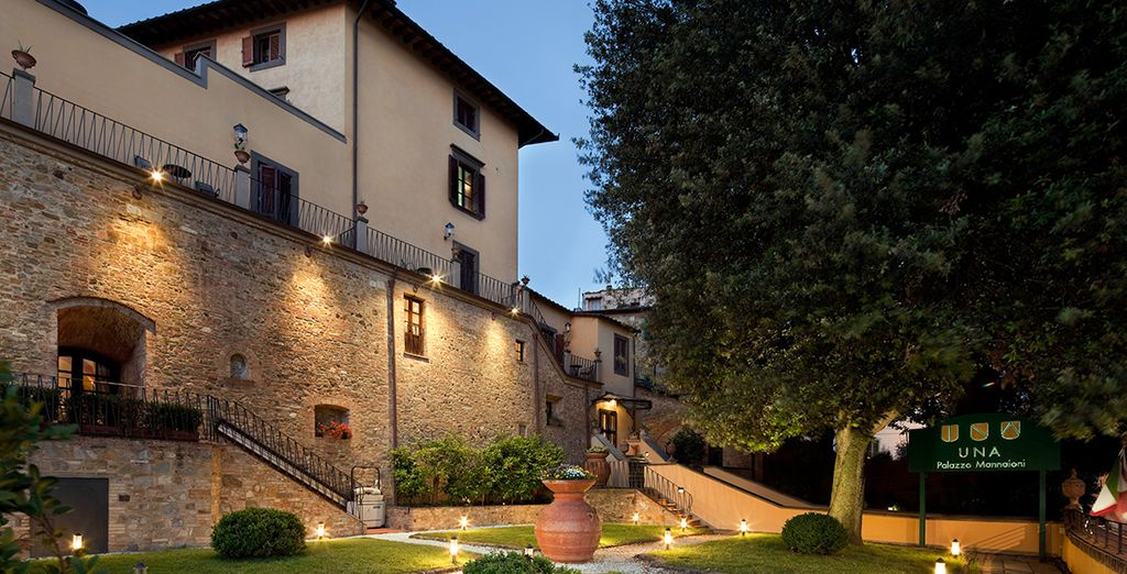 In a grand 16th century building - UNA Palazzo Mannaioni 4* Pisa