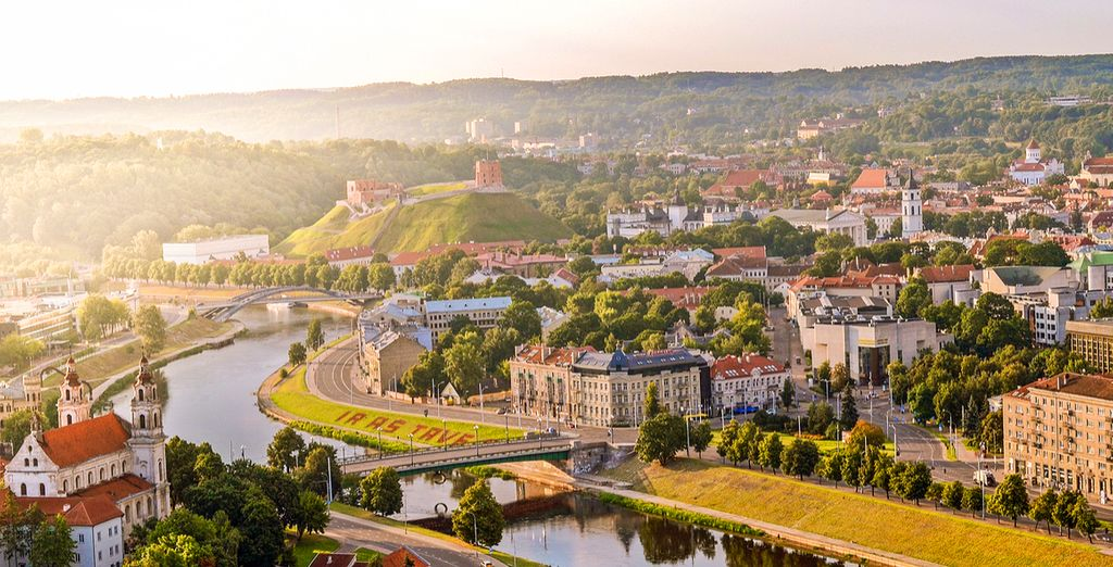 Start your tour in Lithuania's capital, Vilnius