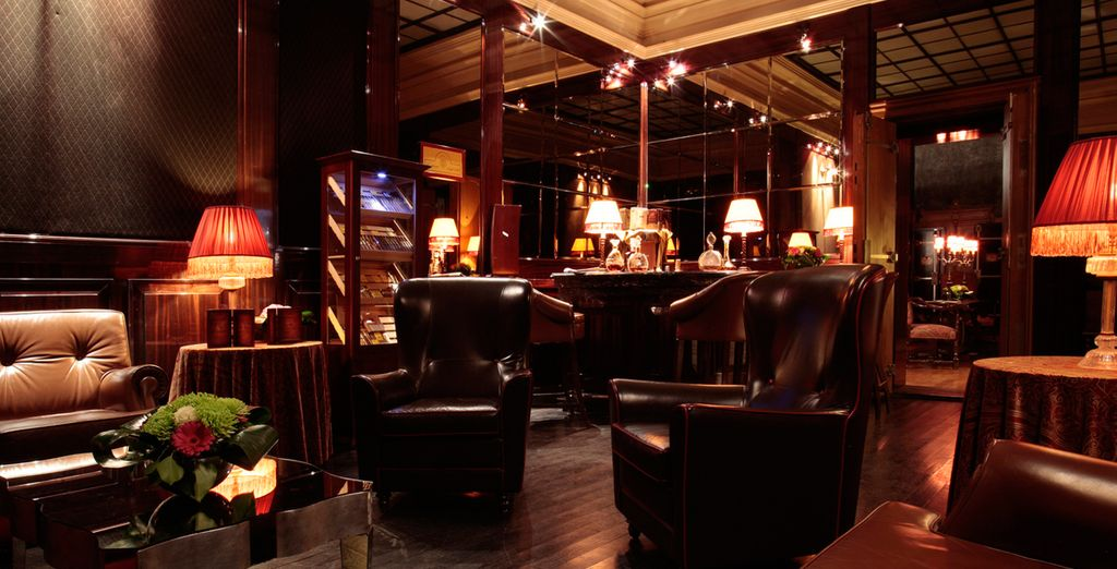 Or chill out in the cigar bar