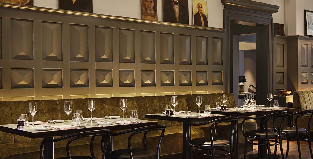 Followed by modern Dutch cuisine at Janz restaurant