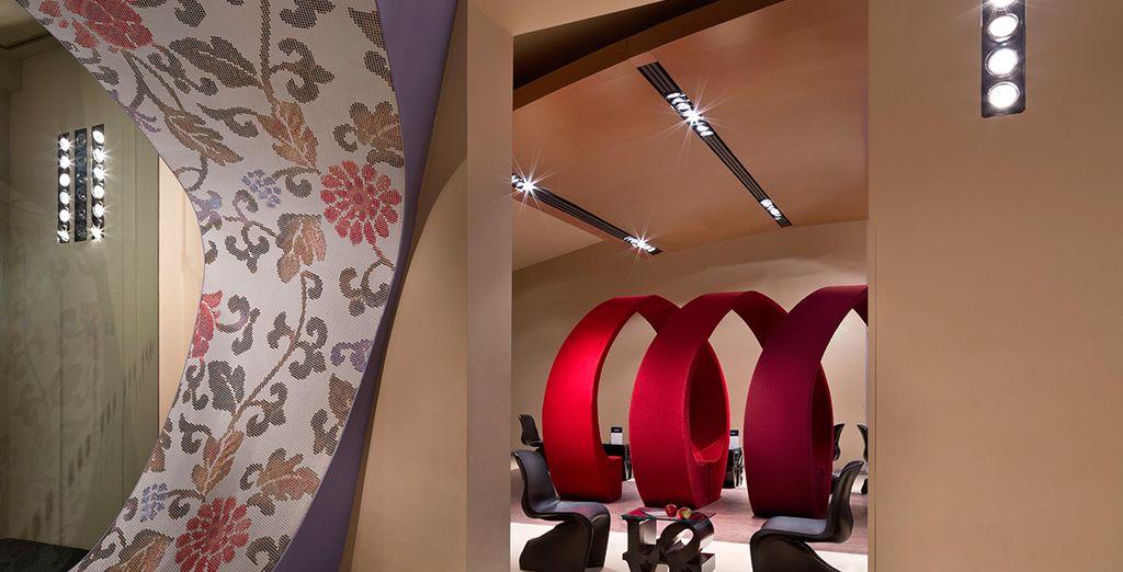 With striking interior design