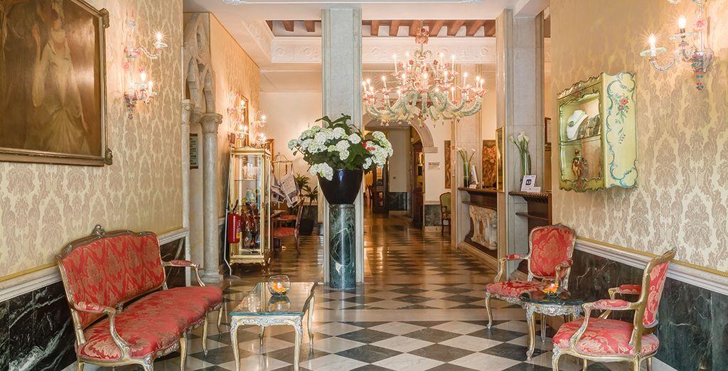 Welcome to the 4* Boscolo Bellini Hotel - Boscolo Bellini 4* Venice