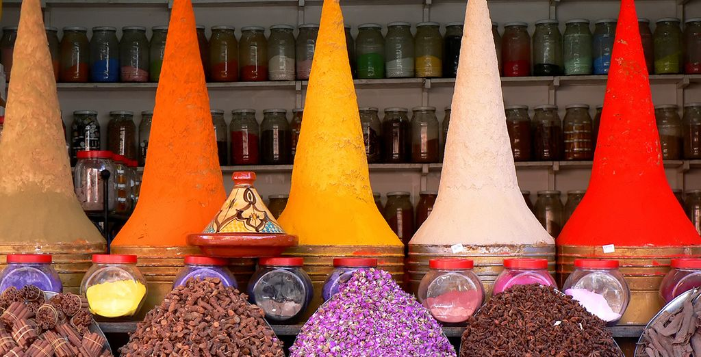 You are within easy reach of the bustling city & its famous souks