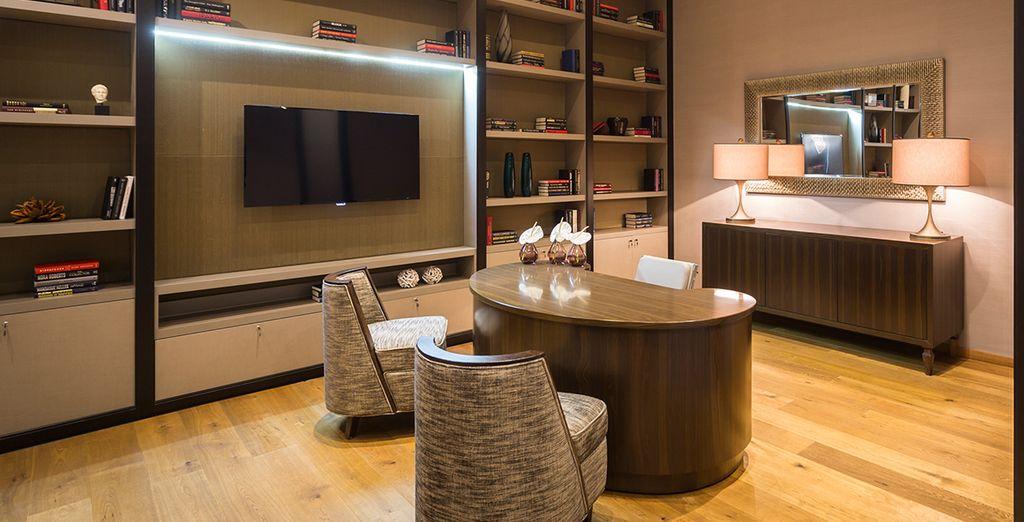 A sleek and stylish property