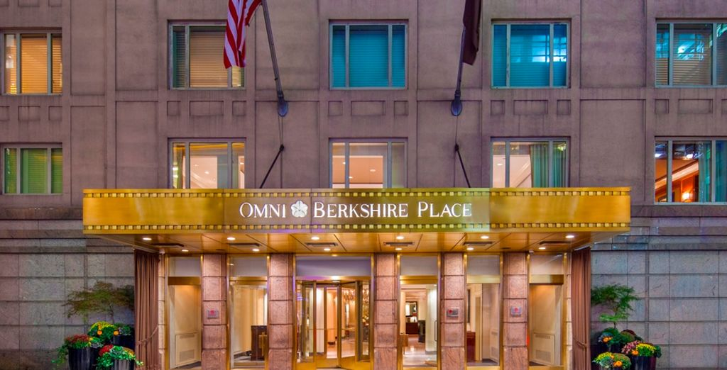 Book a stay at the Omni Berkshire Place