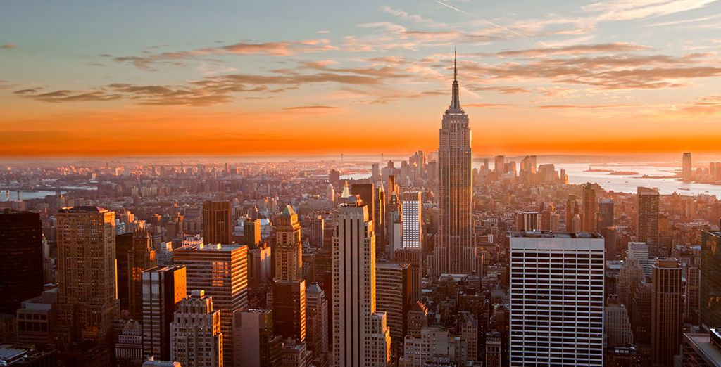 Welcome to the Big Apple - Omni Berkshire Place 4* New York
