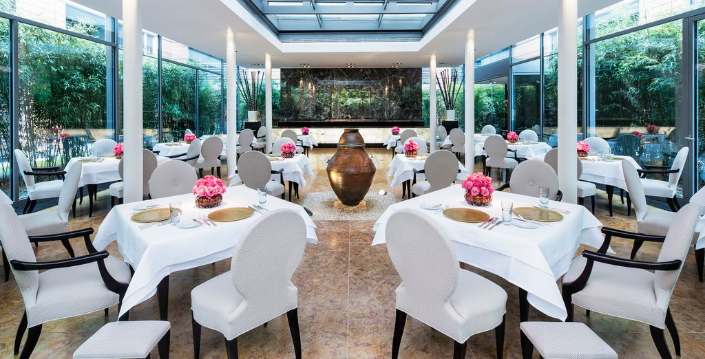 with 2 Michelin-starred Restaurant FACIL...
