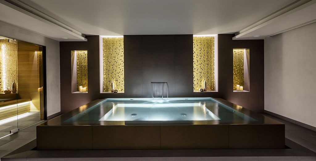 A relaxing session at the spa awaits!